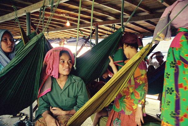 Immigration clandestine par bateau au Cambodge