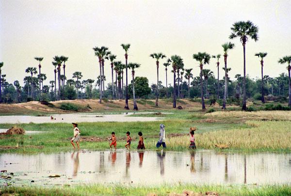 Killing field au Cambodge