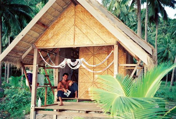 Habitation locale - cabane