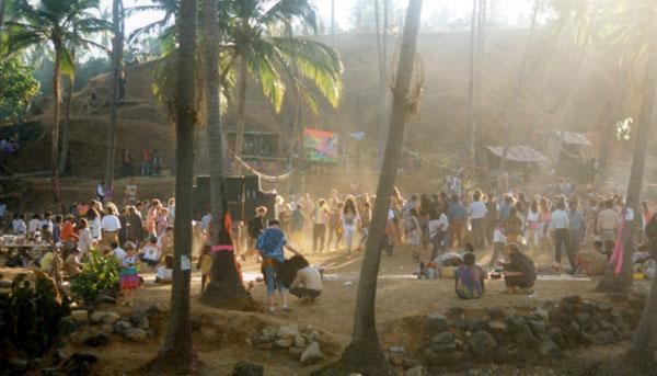 Grosses soirées à Goa en Inde