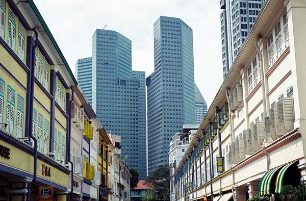 Mixité culturelle et architecturale à Singapour