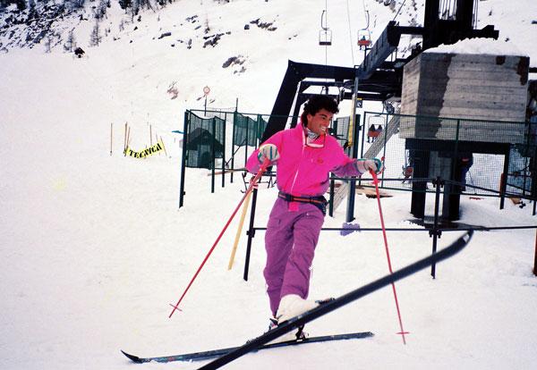 Ski dans les alpes italiennes