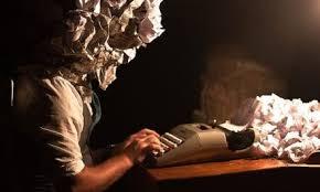 Dans la tête d'un écrivain - brouillon