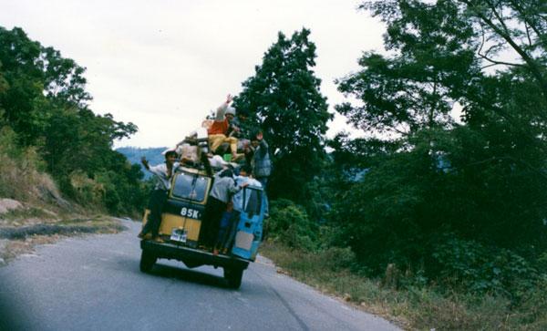 Transport local - plein à craquer