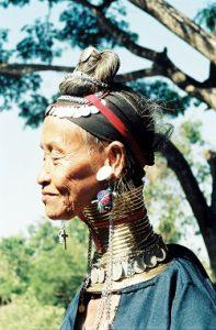 Femme girafe - Birmanie