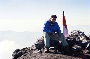 En altitude en Indonésie