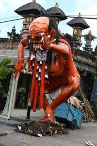 ogoh-ogoh, symbole de l'évènement