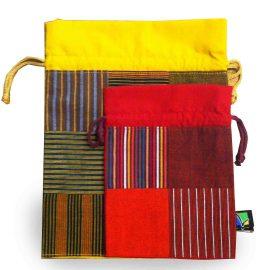 pochettes colorées humanitaire