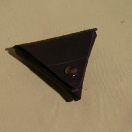 porte-monnaie triangle noir