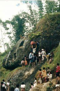 habitants locaux indonésie habitations