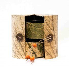 Boîte à bijoux tropicale