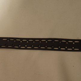 bracelet empreinte noir humanitaire