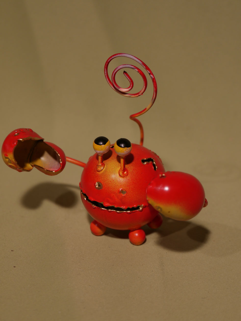 crabe rouge aux grandes pinces