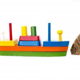 bateau jouet à construire pour enfant