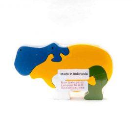 hippopotame à assembler jouet enfant