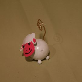mouton au visage rosé