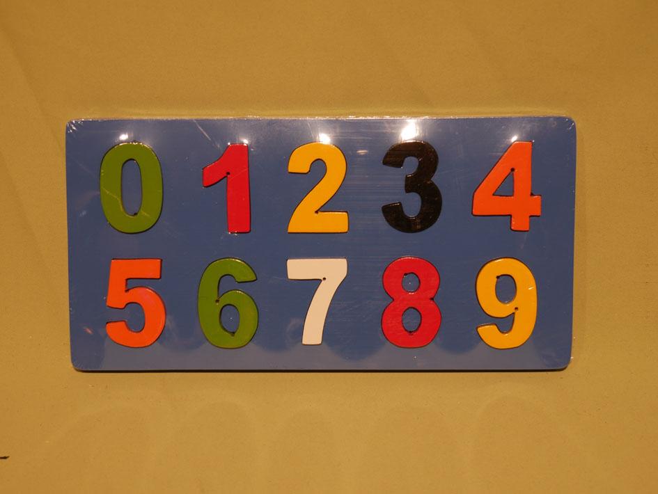 puzzle chiffres pour enfant