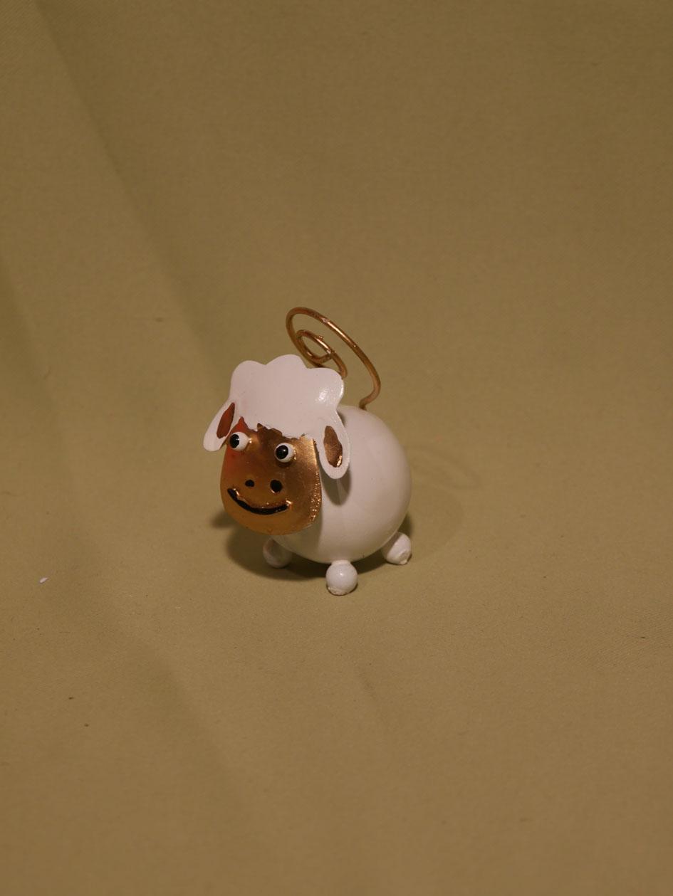 mouton blanc porte-photo