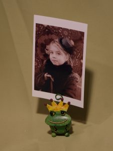 grenouille royale porte-photo