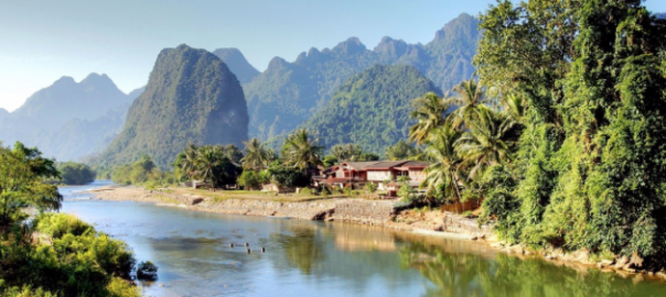 Laos paysage