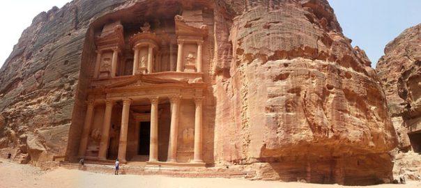 temple Petra en Jordanie