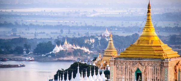 visiter des monuments en birmanie