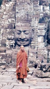 Moine cité Angkor